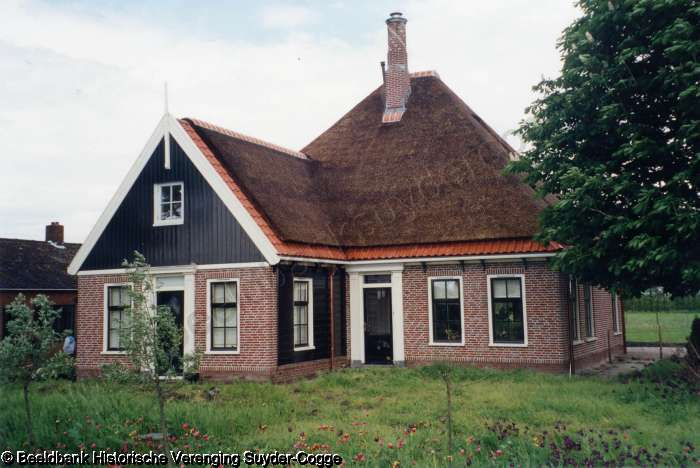 Meeweg 6 na sloop oude woning staat er een nieuw boerderij huis foto 04153 uit de beeldbank - Oude huis fotos ...